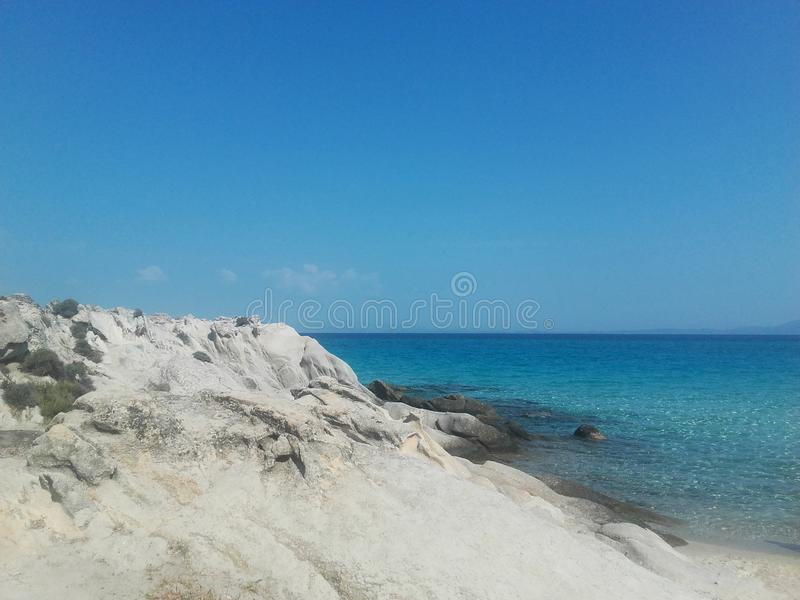 ocean blue fotografia stock