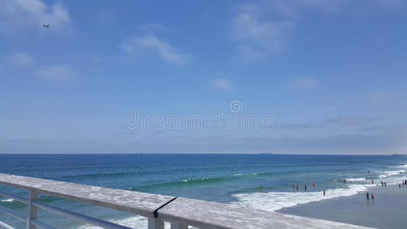 Ocean Blue royalty free stock images