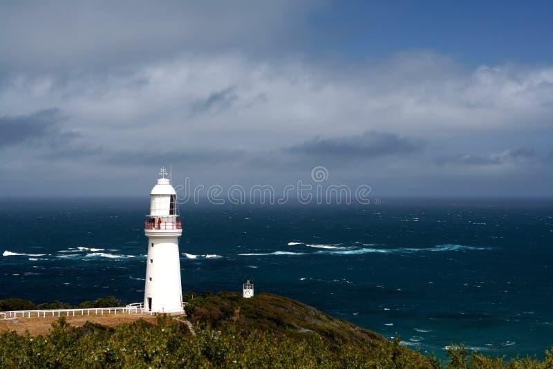 ocean blue latarnia ciężko przeoczyć obraz royalty free