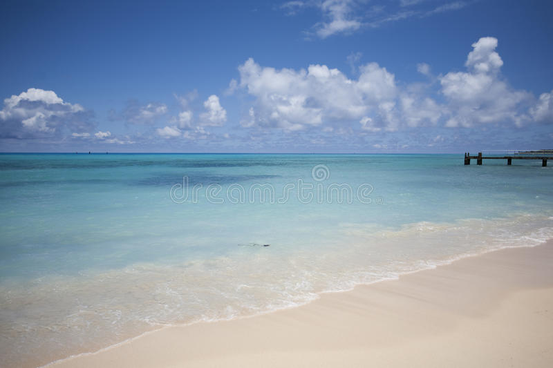 Ocean And Blue Sky Royalty Free Stock Photography