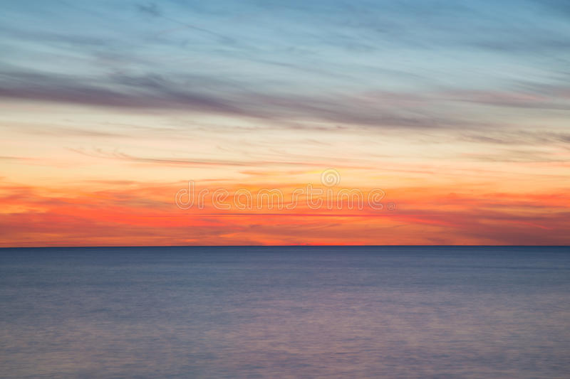Ocean, Blurry Movement Background Stock Photo - Image ...