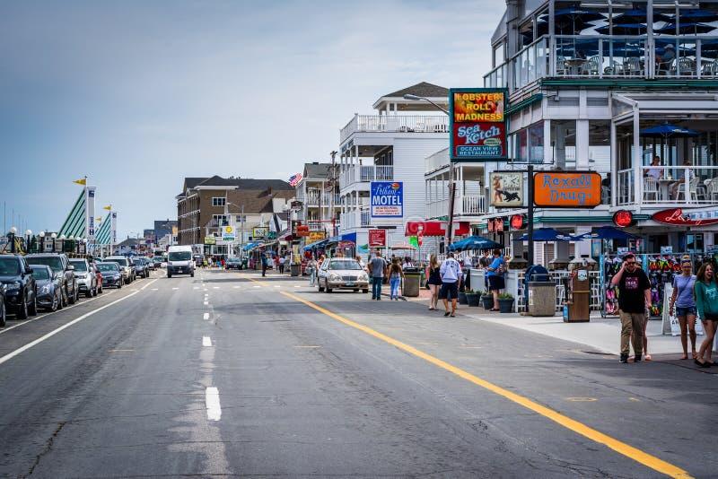 Ocean Boulevard, In Hampton Beach, New Hampshire