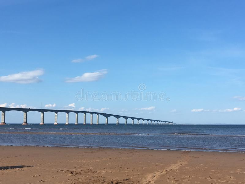 Ocean Bridge stock photos
