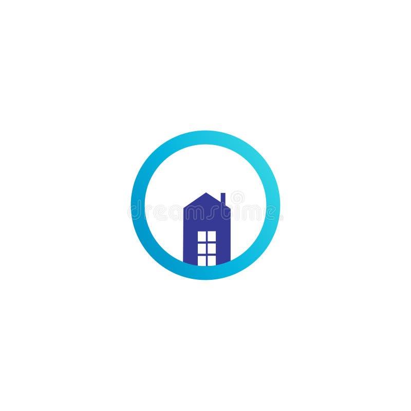 Ocean Builders Logo Design royalty free illustration