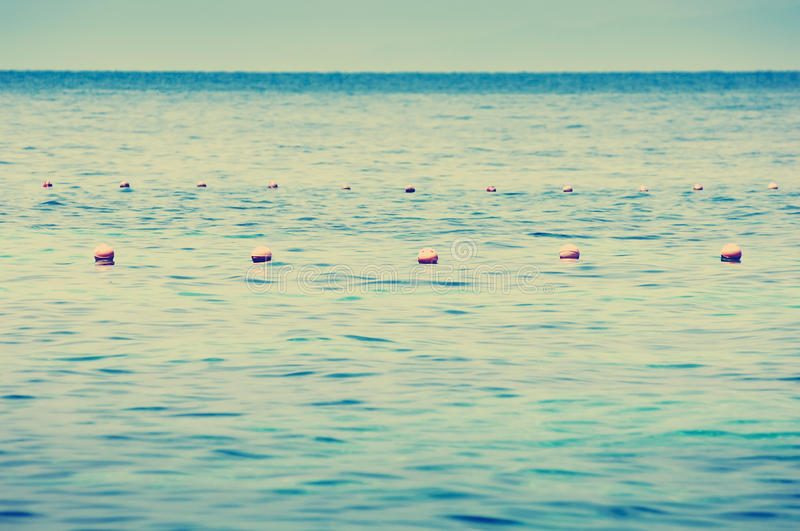 Ocean Buoys royalty free stock images