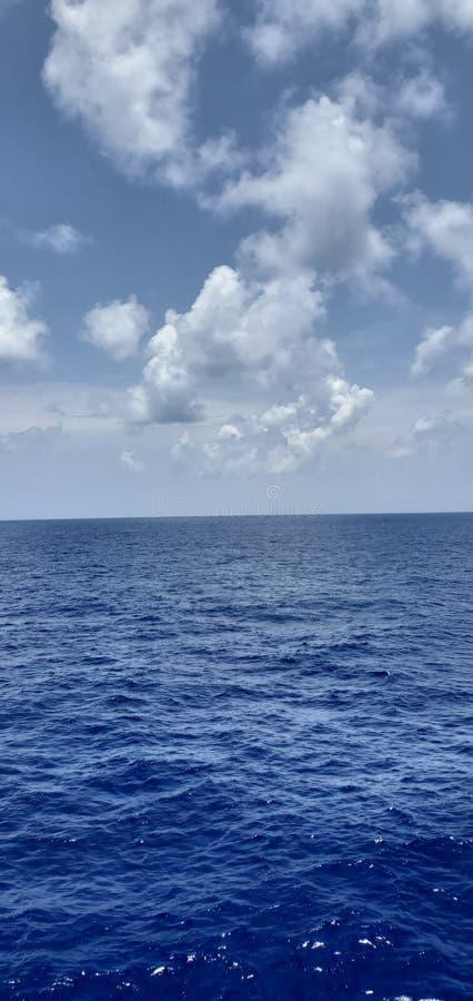 Ocean chmury obraz royalty free