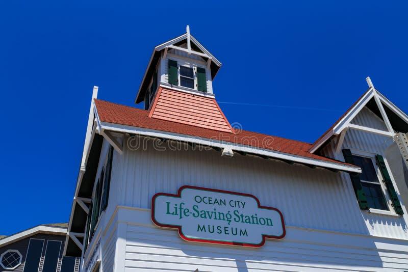 Ocean City Life Saving Museum ign stock images