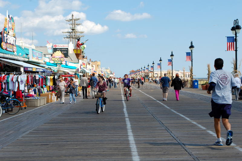 Ocean City, New Jersey royalty free stock image