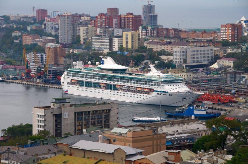 Download Ocean cruise liner editorial image. Image of railway - 27174970