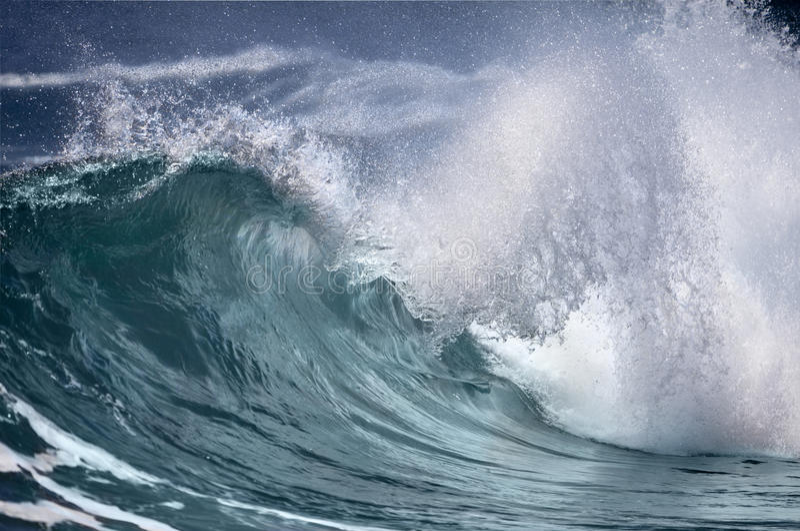 ocean fala zdjęcia royalty free