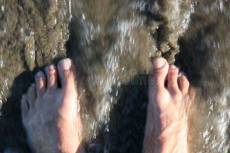 Download Ocean feet stock image. Image of blur, nails, ocean, nature - 4583445