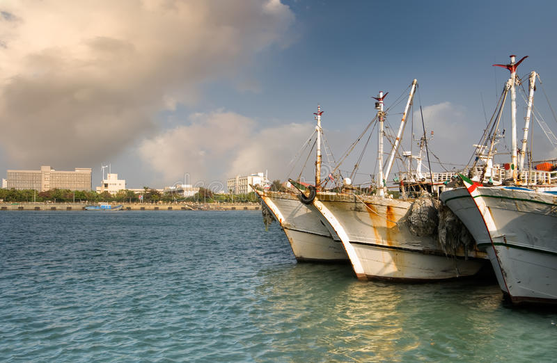 Ocean Harbor Royalty Free Stock Images