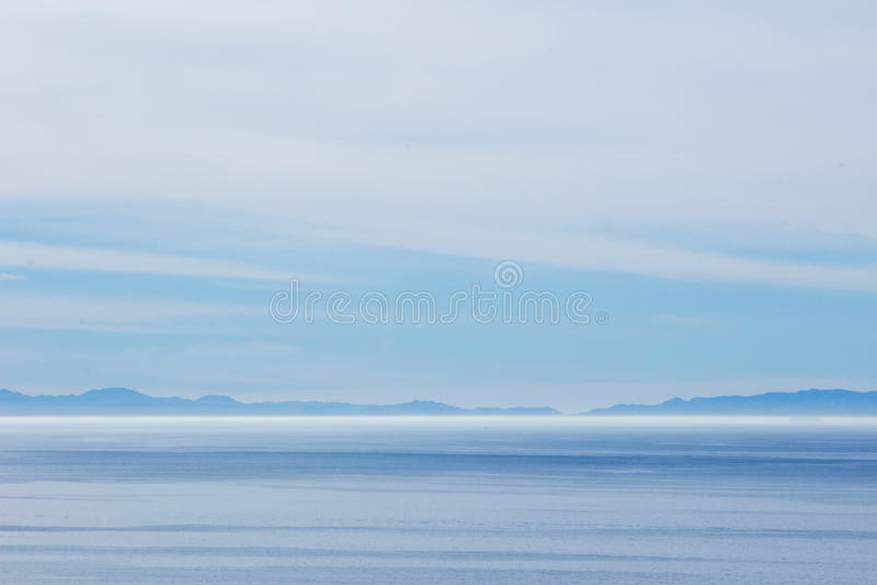 Ocean and horizon royalty free stock photography