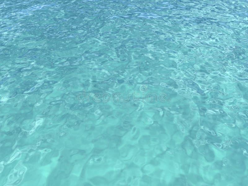 ocean indyjski połysku słońca tekstury woda ilustracji