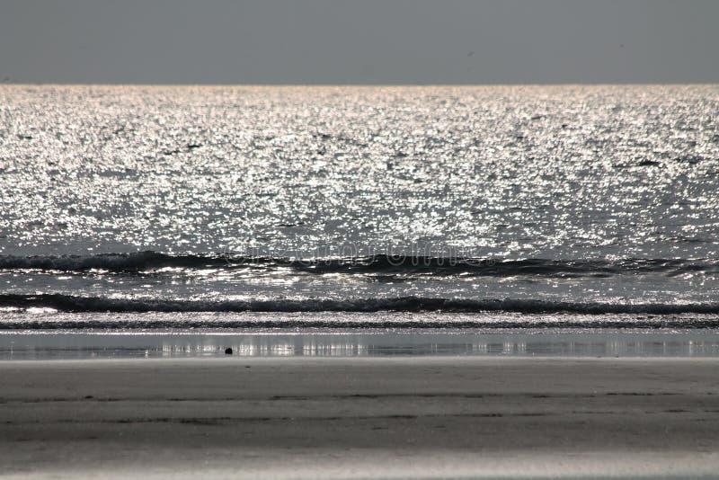 Ocean Indyjski w Goa fotografia royalty free