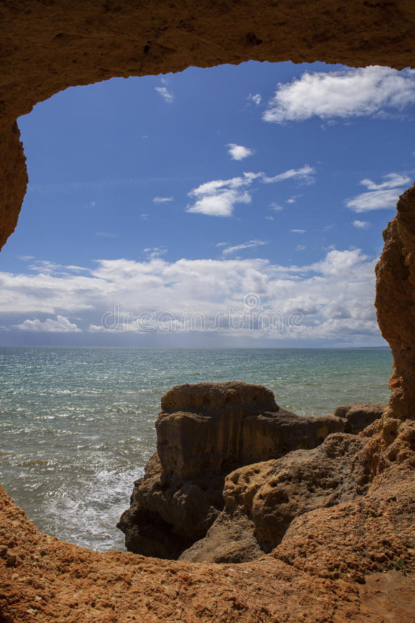 Ocean jama zdjęcia royalty free