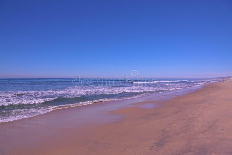 Ocean Karlsbadzki Kalifornia obraz stock