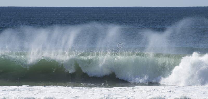 Ocean kipieli łamanie fotografia stock