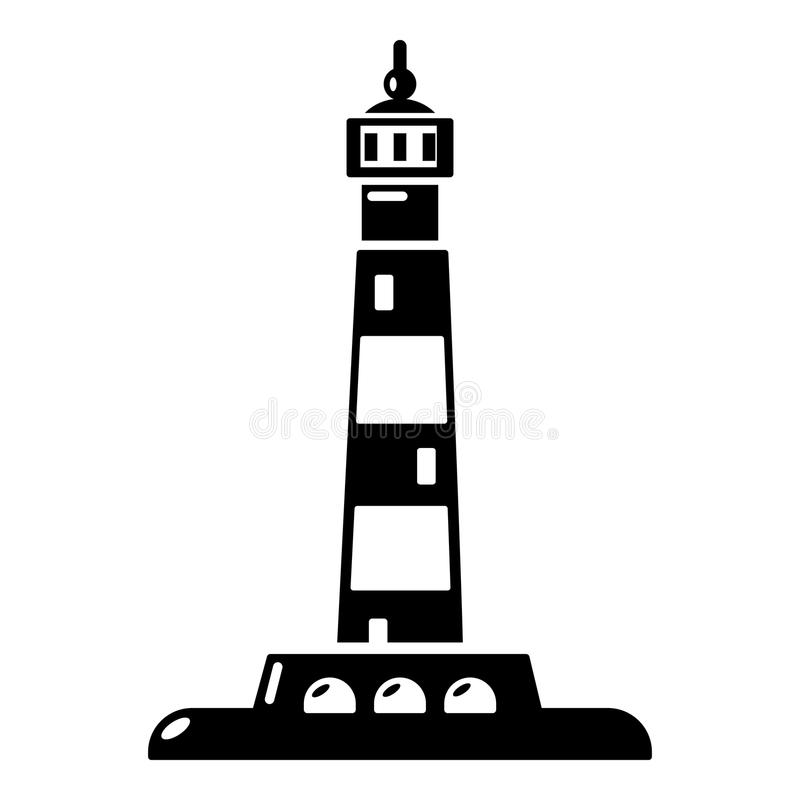 ocean lighthouse icon simple style stock vector illustration of rh dreamstime com lighthouse vector lighthouse vector icon