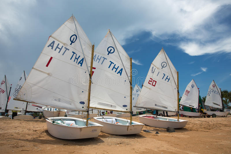 Ocean Marina Yacht Club stock photo