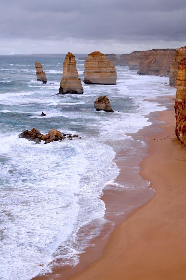 ocean moc obrazy stock
