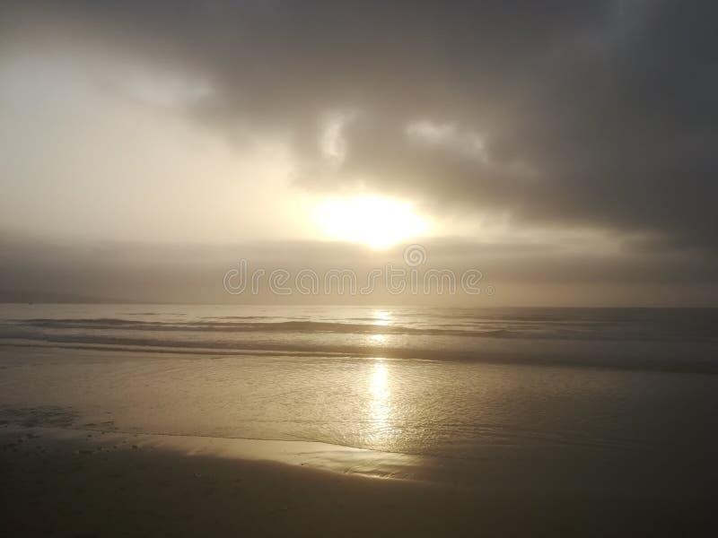 ocean nad słońcem obraz royalty free