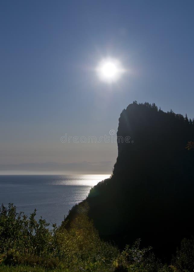 ocean nad wschód słońca obraz stock