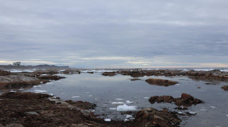 Ocean, Newfoundland, Canada royalty free stock photos