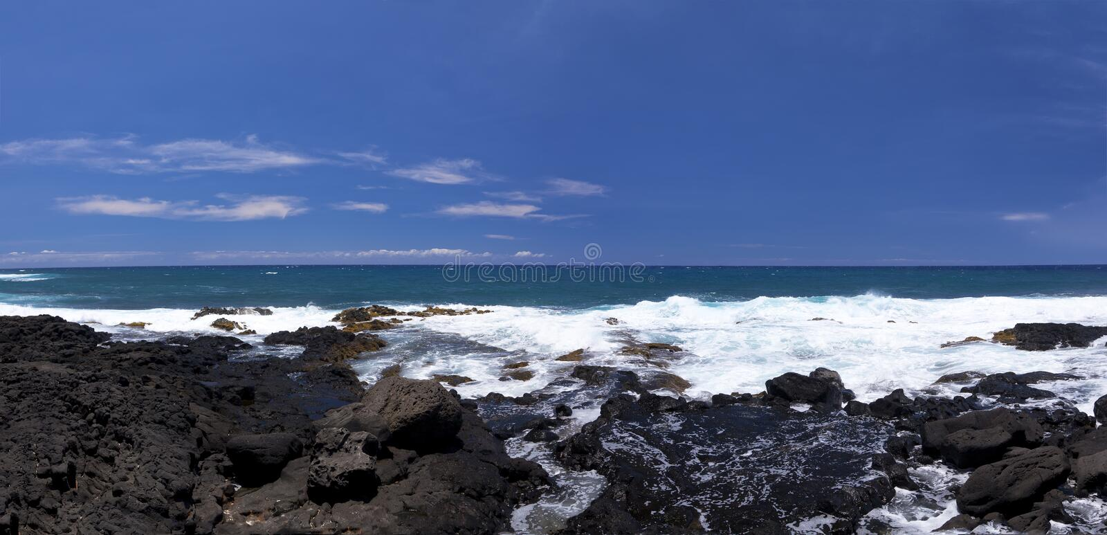 Download Ocean Panorama At South Point Park Stock Image - Image: 29036307