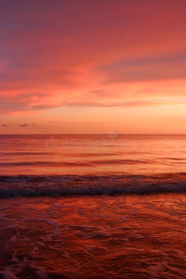 Ocean of red royalty free stock photos