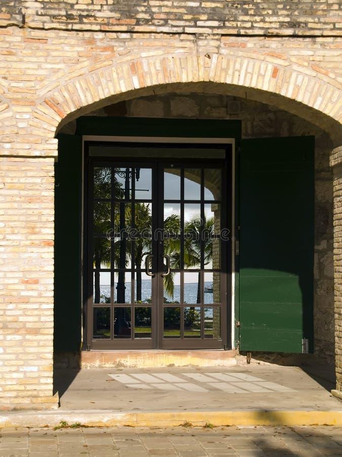 Download Ocean Reflection In Doorway Royalty Free Stock Images - Image: 2308359