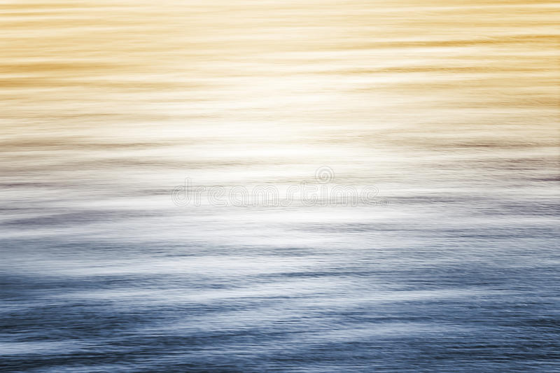 Ocean Reflections with Gradient royalty free stock image