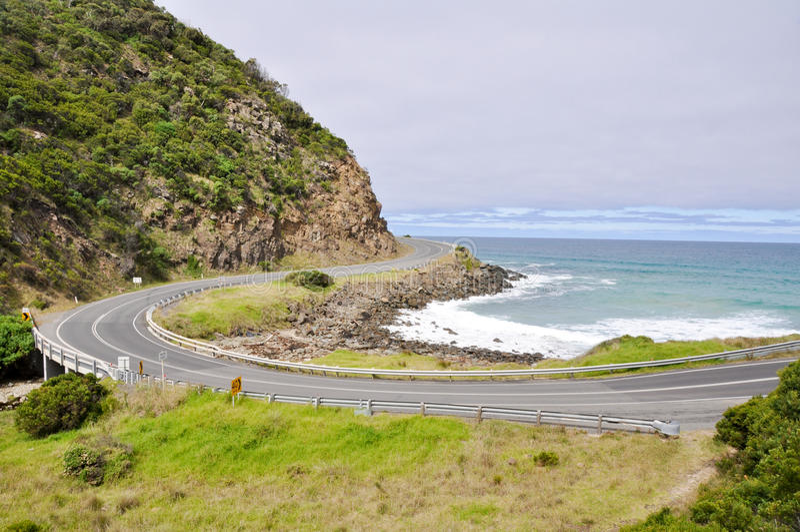 Download Ocean Road, Victoria, Australia Stock Photo - Image: 19779242