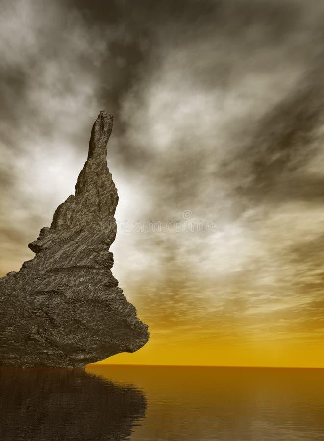 ocean rock zdjęcie royalty free