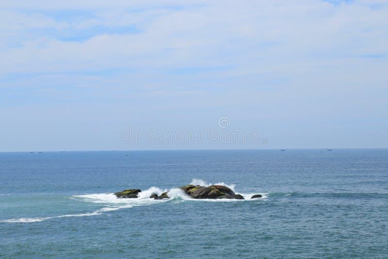 Ocean rock royalty free stock photo