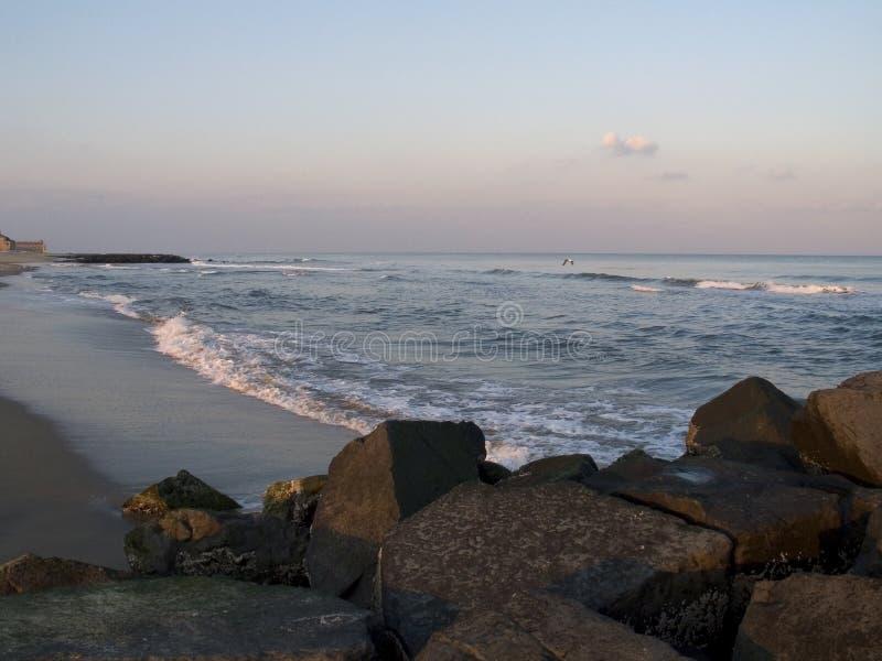 Ocean and Rocks royalty free stock photos