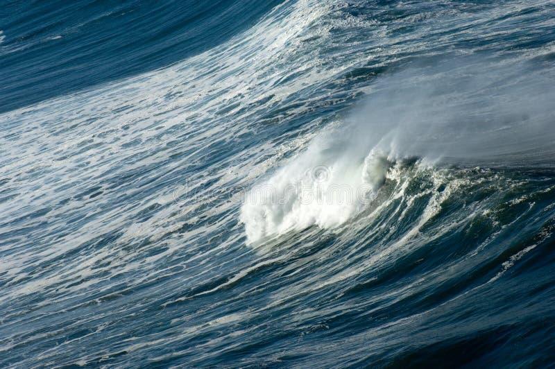 Ocean's fury stock photos