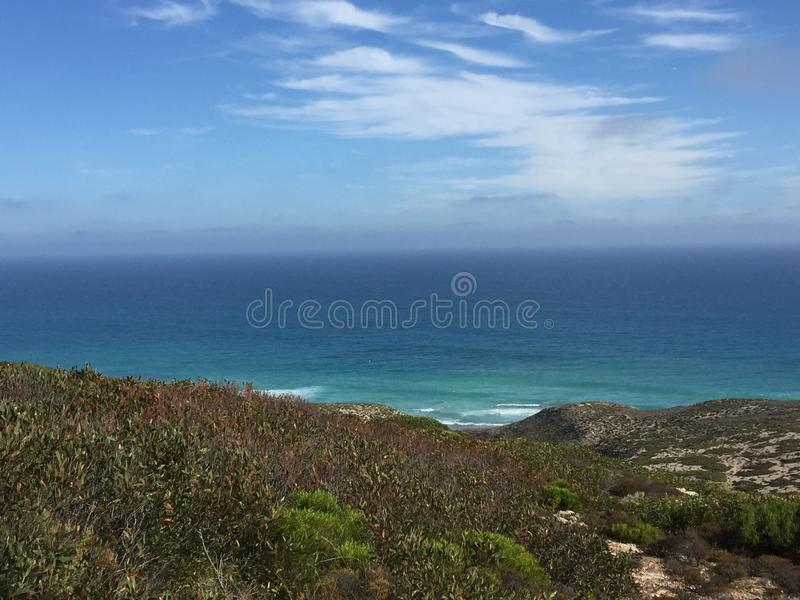 Ocean scene royalty free stock photography