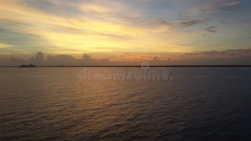 Ocean and Shore royalty free stock photos