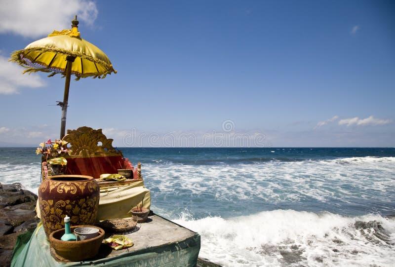 Ocean shrine royalty free stock images