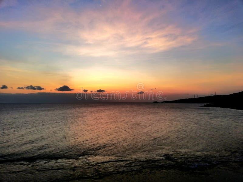 Ocean sky stock photos