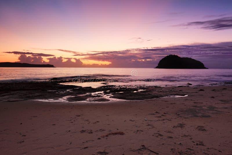 Ocean sylwetki i zdjęcia stock