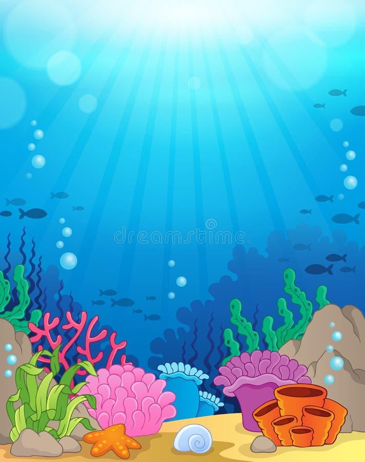 Ocean underwater theme background 3. Eps10 vector illustration vector illustration
