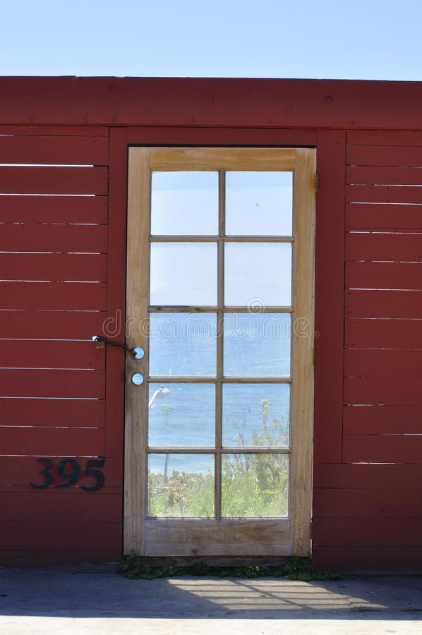 Download Ocean view stock photo. Image of locked, wooden, home - 27081566