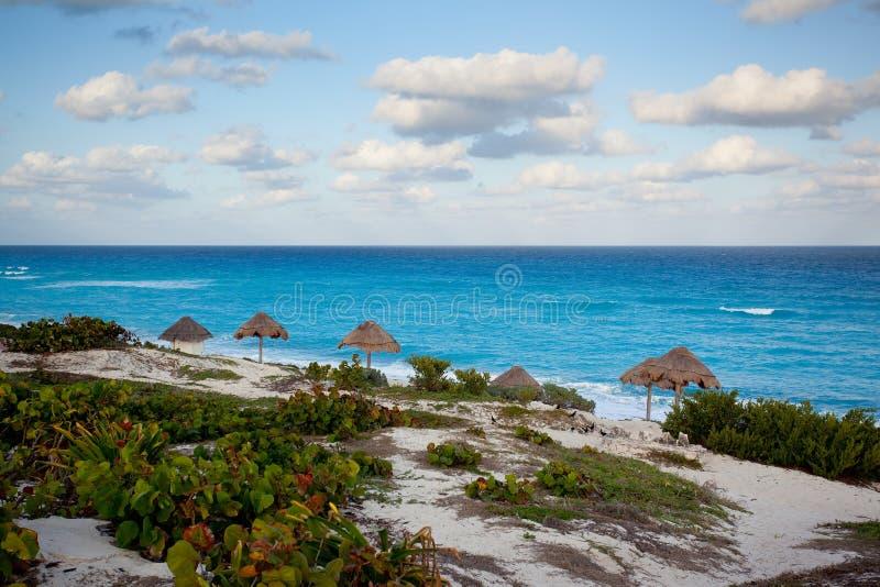 Ocean view, Cancun stock photos
