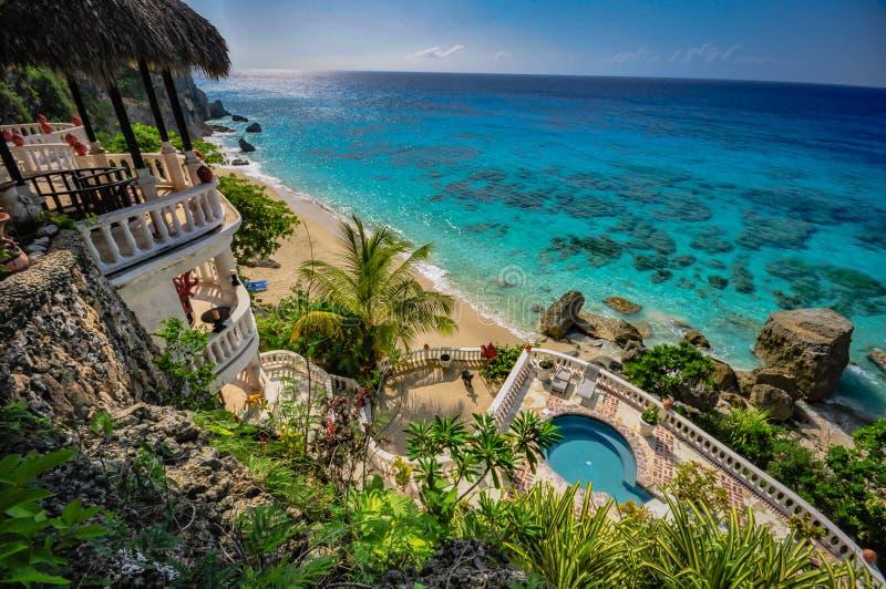 Ocean View - Dominican Republic stock photo