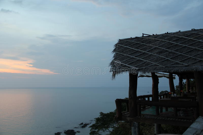 Download Ocean view stock photo. Image of blue, bungalow, holiday - 55522444