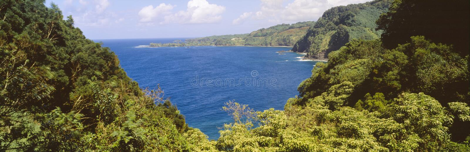 Ocean View From The Road Royalty Free Stock Image