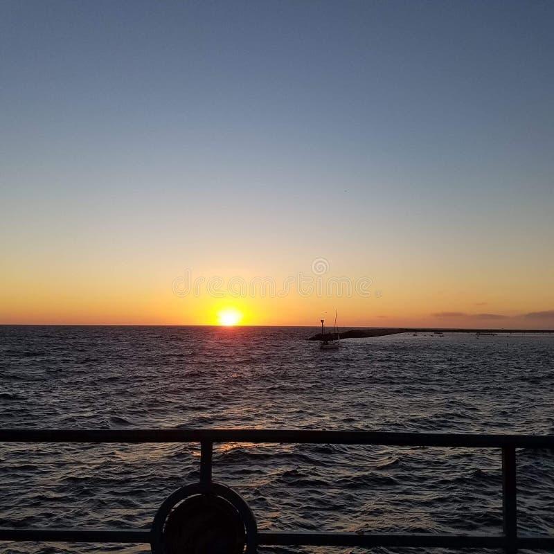 Ocean view stock image