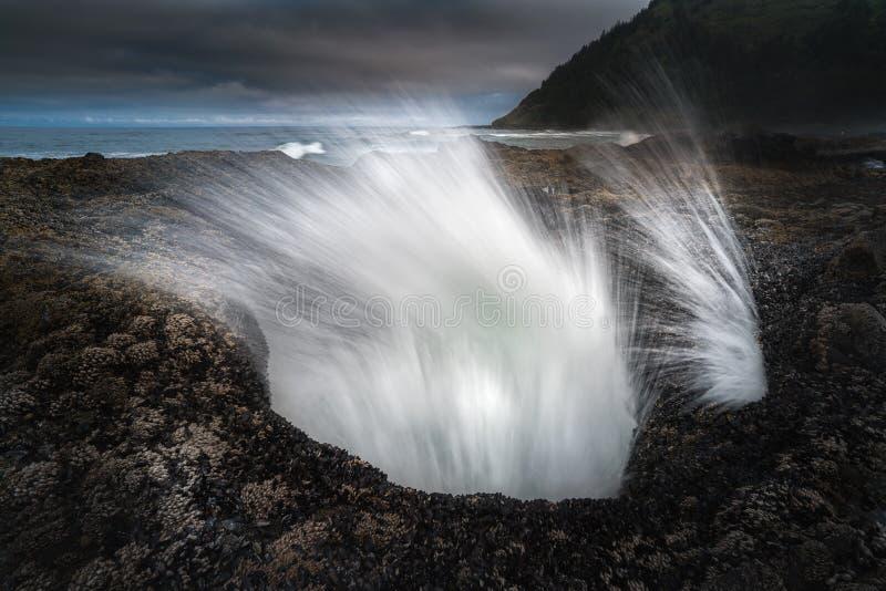 Ocean władza przy Thor Dobrze zdjęcie royalty free